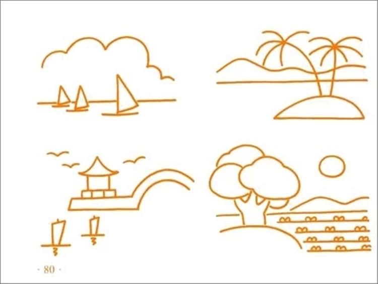 单本小小孩儿童简笔画大全 宝宝学画2-6岁童书简笔画