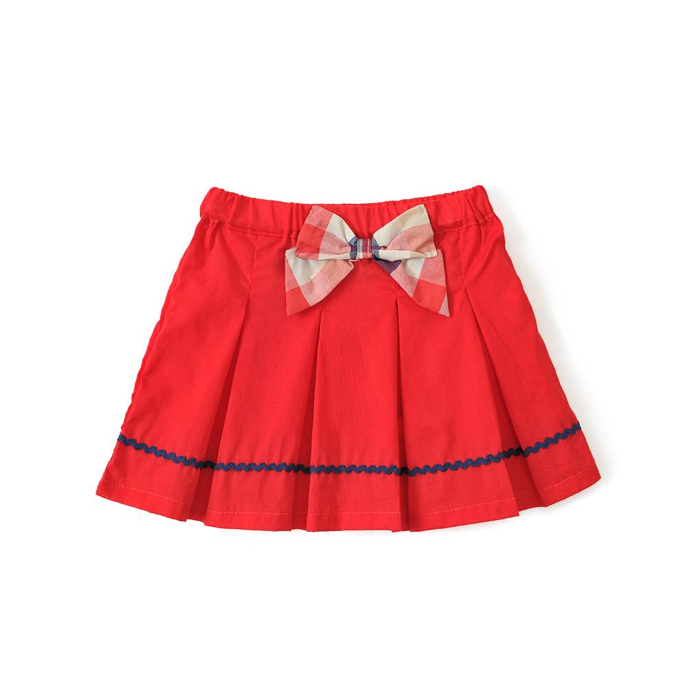 婴儿裙子 夏装新款女宝宝纯棉半身裙儿童百褶裙