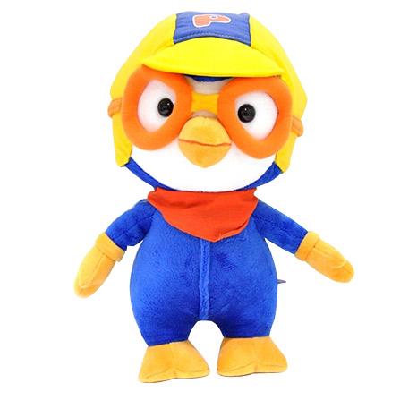 pororo 啵乐乐 韩国公仔小企鹅毛绒玩具儿童可爱生日礼物 纯棉玩偶