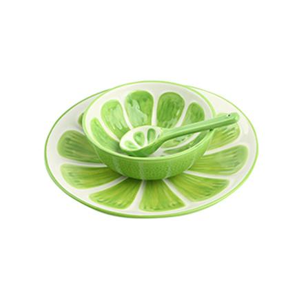homee 创意手绘水果系列餐具套装 哈密瓜