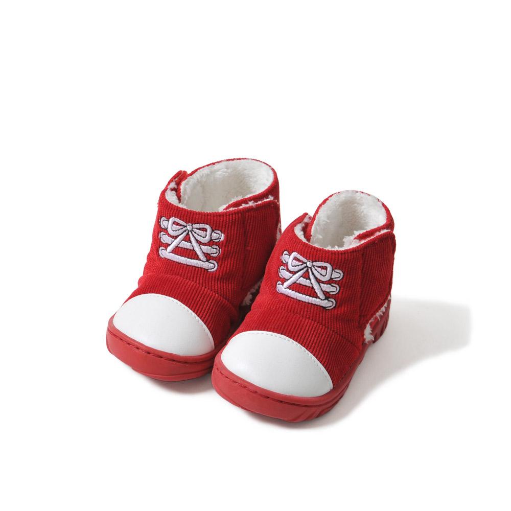 宝宝鞋子 红