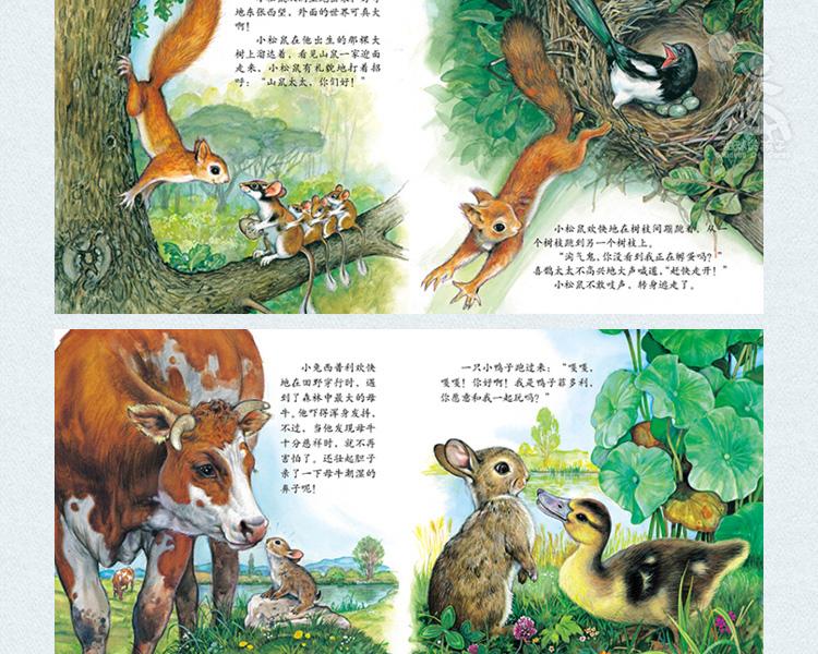 跟随小动物的足迹(套装共12册)【价格
