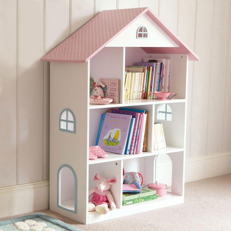 儿童家具落地书架 粉红色