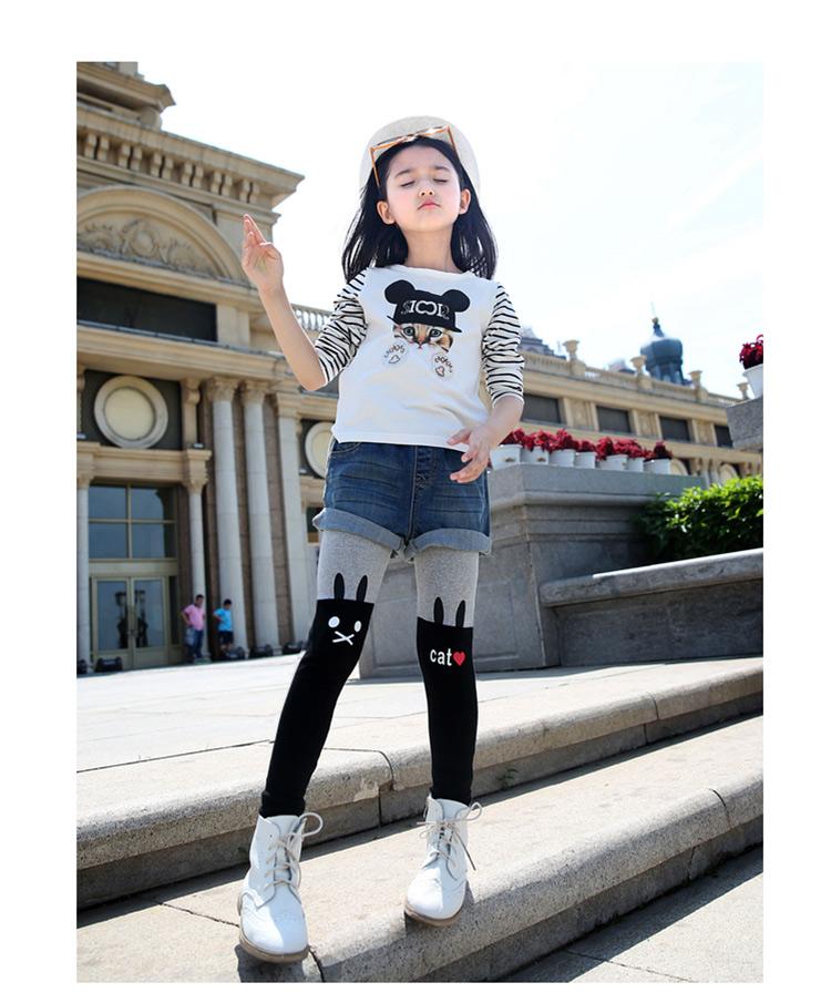 韩版儿童可爱打底裤 品牌:米妮哈鲁 minizaru  分类:打底裤/连裤袜