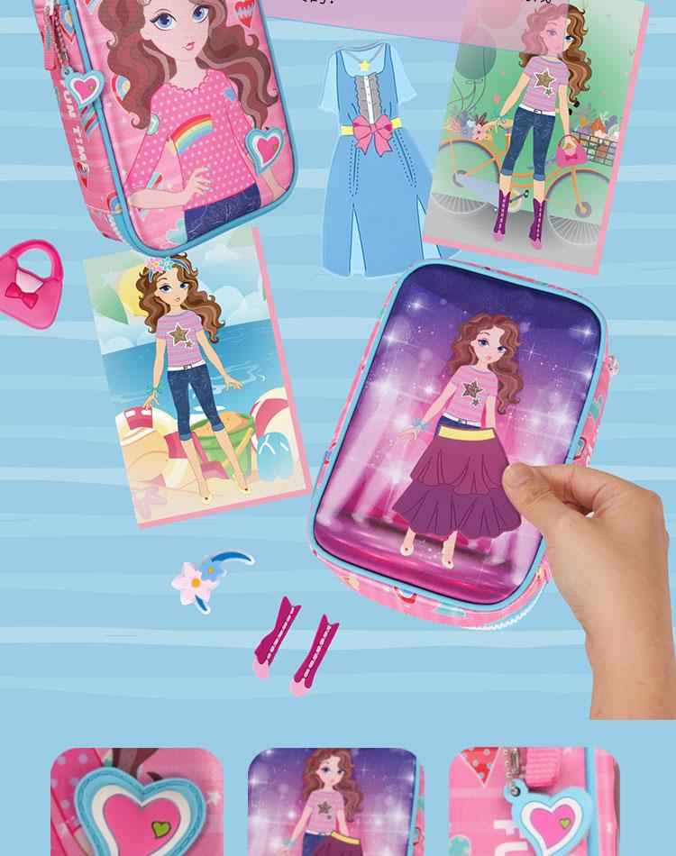 创意儿童礼物小学生礼品新品生日玩具笔盒笔袋大容量图片
