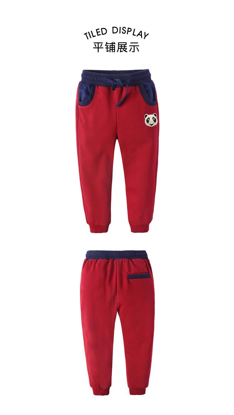 男童休闲运动裤童装舒适长裤