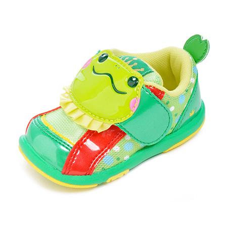 卡通幼儿学步鞋 绿