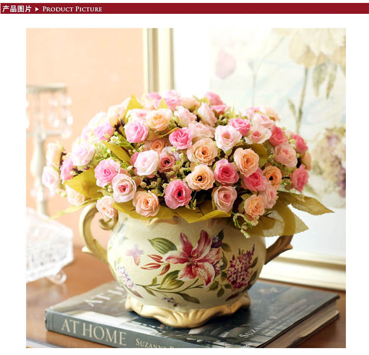 配欧式花瓶 粉 品牌:鱼西美屋 分类:收纳/装饰 商品条码: 包装规格:套
