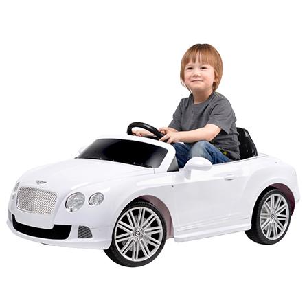 儿童童车 儿童可坐遥控电动宾利童车(带刹车12v,双电机) 白