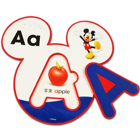 英语字母海绵学习卡图片