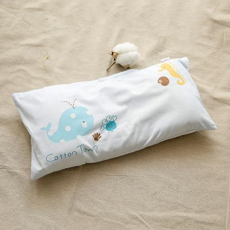 婴儿枕头 决明子棉花枕 海洋世界