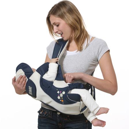婴儿抱背带图解