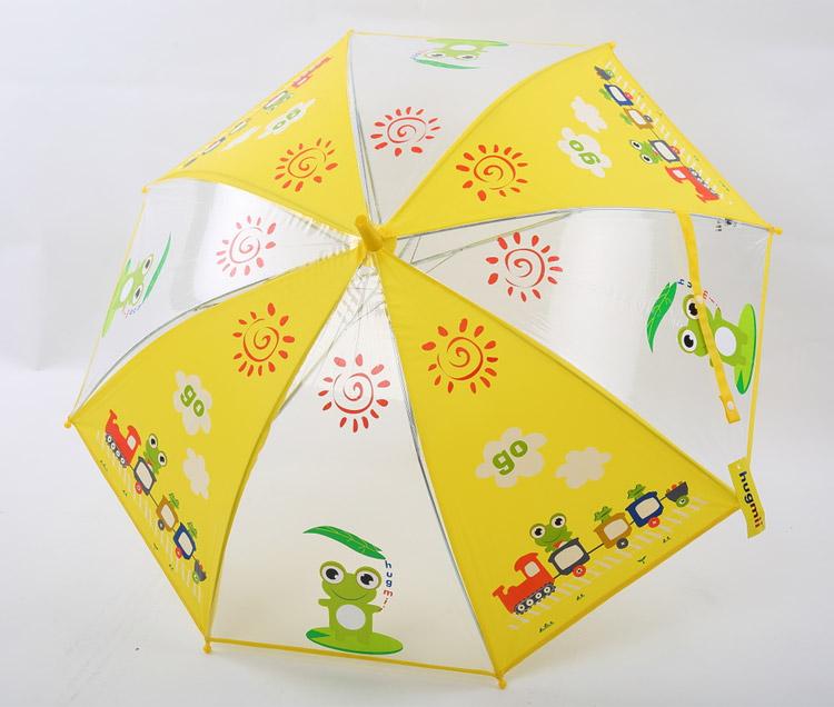儿童动物图案环保雨伞 青蛙_4