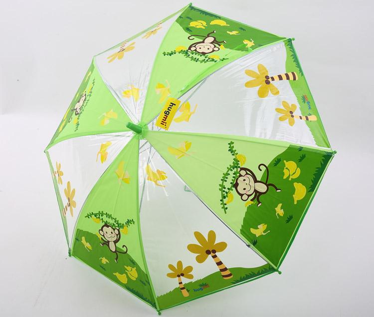 【hugmii 儿童动物图案环保雨伞 猴子】 - 蜜芽宝贝,.