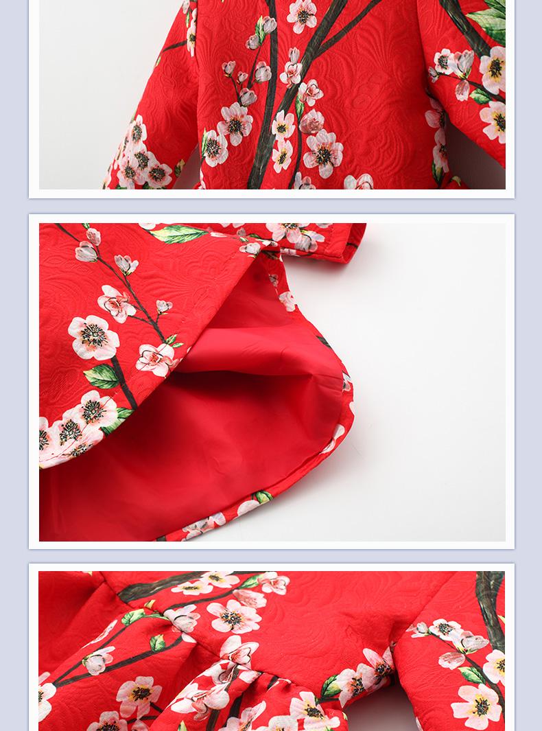 中国风红色简约线条边框素材