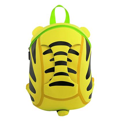 小老虎幼儿园儿童书包可爱3d韩版潮包 黄
