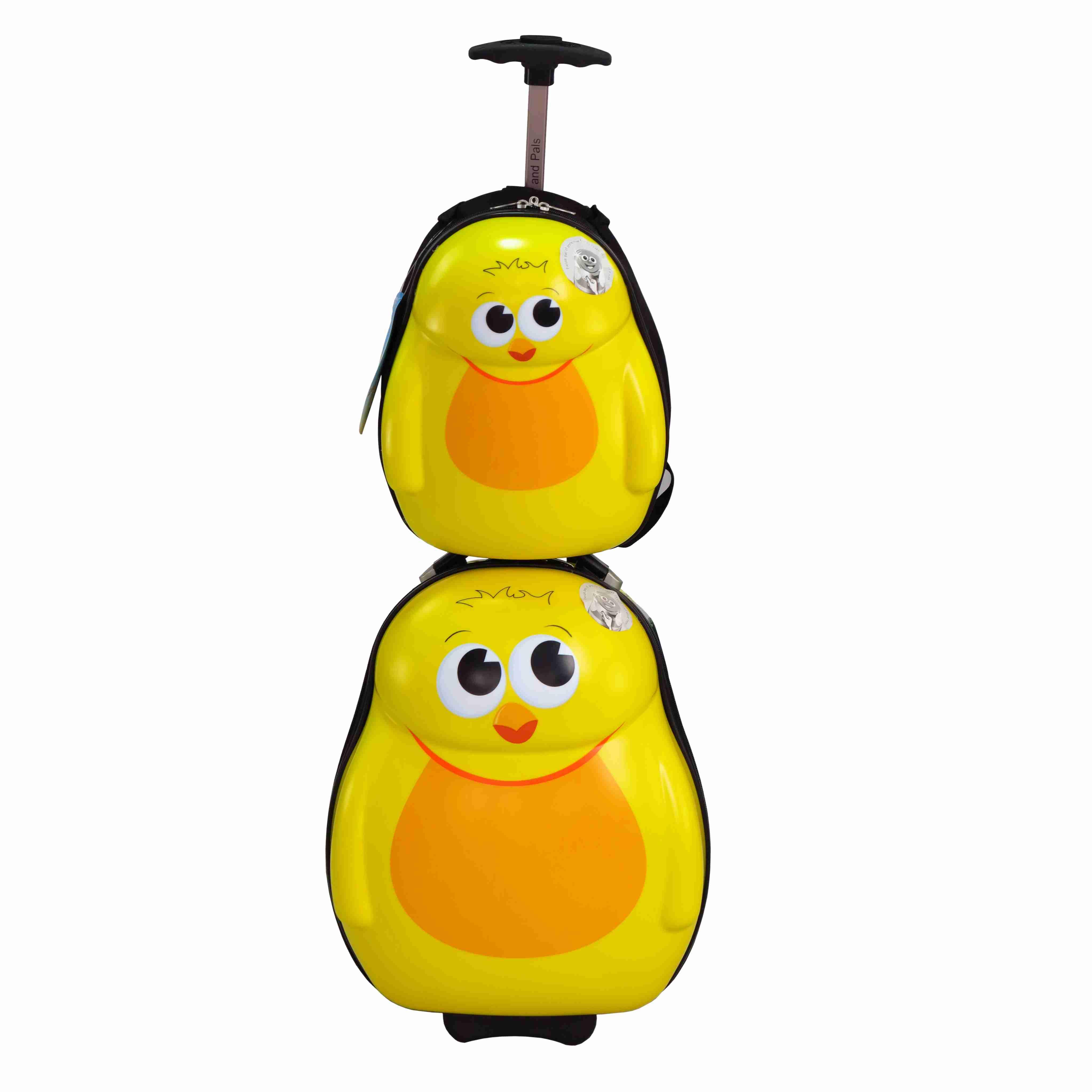 儿童可爱动物母子旅行箱包套装