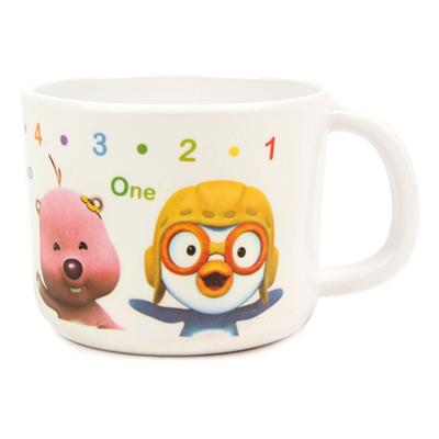 韩国进口儿童水杯卡通可爱宝宝水杯茶杯带手柄